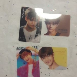 Wanna One Kpop JinYoung Transparent Photo cards